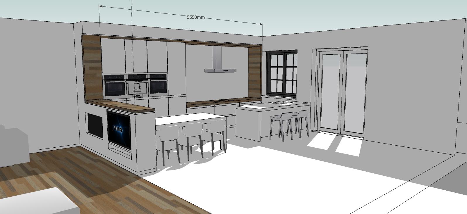 Minimalistische keuken for Zelf keukenontwerp maken